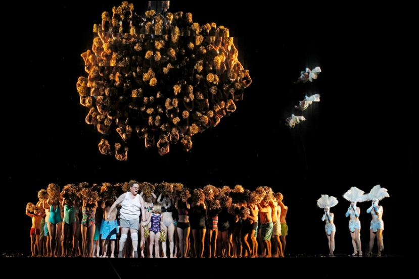 The Melbourne Ring Cycle Opera Australia 2013 Alberich, Sea of Humanity, Rhinemaidens