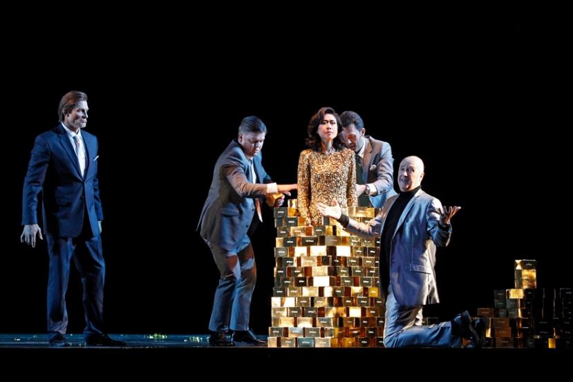 The Melbourne Ring Cycle Opera Australia 2013 Freia in gold