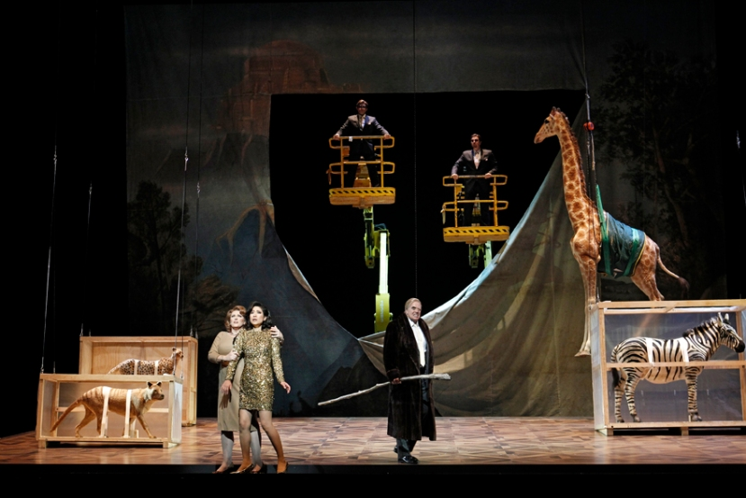 The Melbourne Ring Cycle Opera Australia 2013 Fricka, Freia, Wotan, Giants