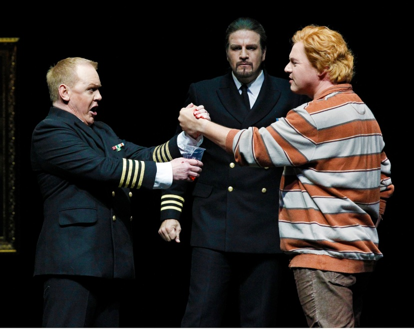 The Melbourne Ring Cycle, Opera Australia 2013 Gunther, Hagen, Siegfried