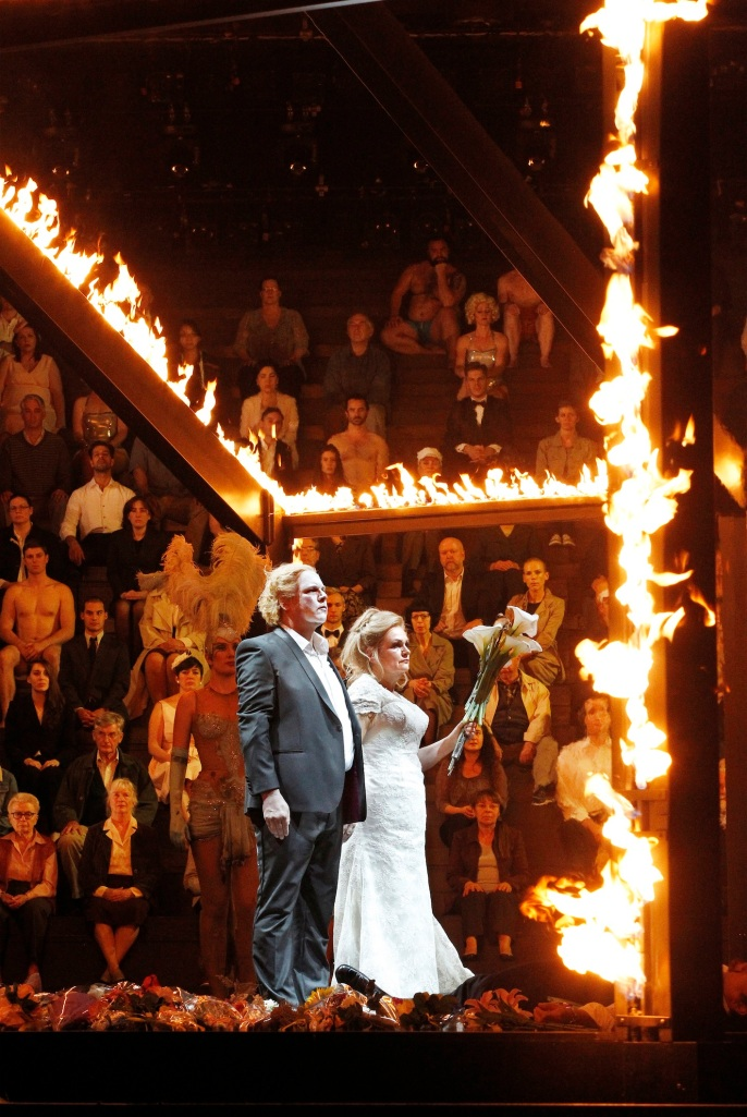 The Melbourne Ring Cycle, Opera Australia 2013 Siegfried, Brunnhilde, fiery finale