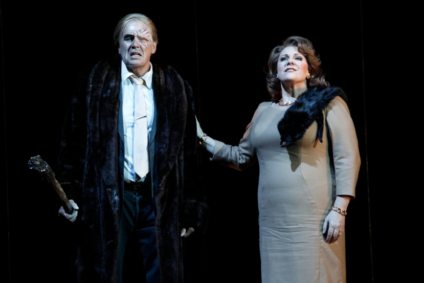 The Melbourne Ring Cycle Opera Australia 2013 Terje Stensvold as Wotan, Jacqueline Dark as Fricka