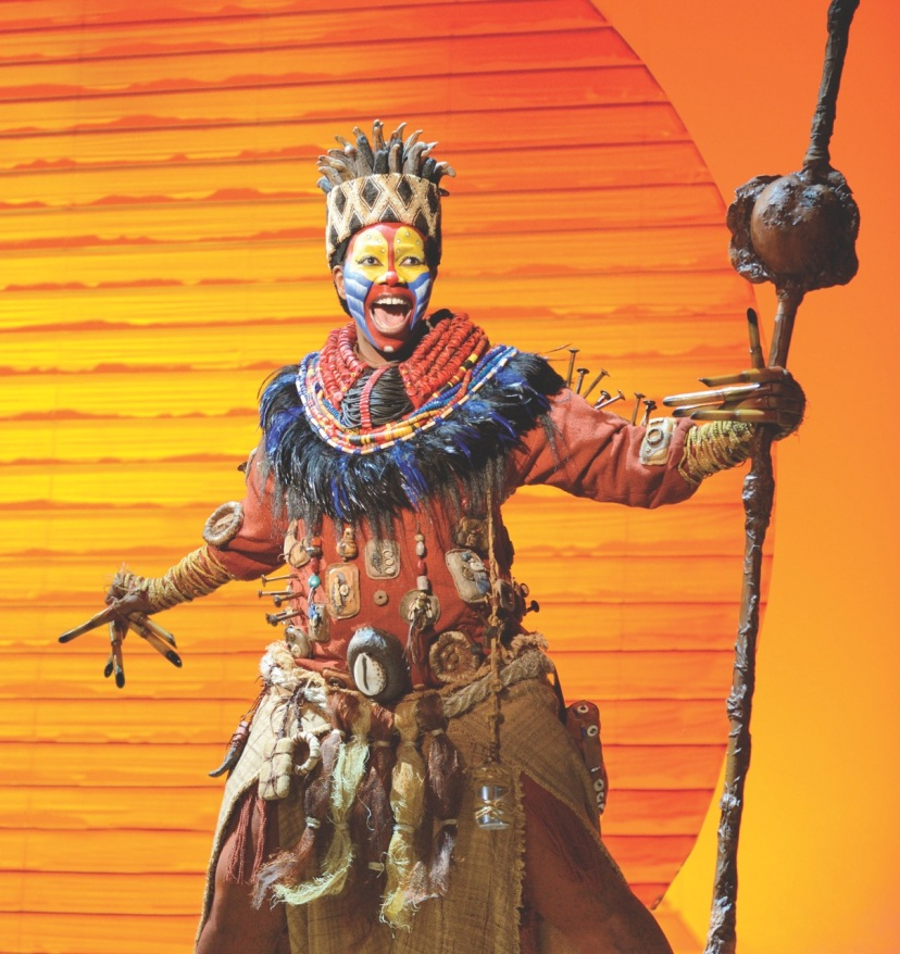 The Lion King Sydney 2013.Rafiki