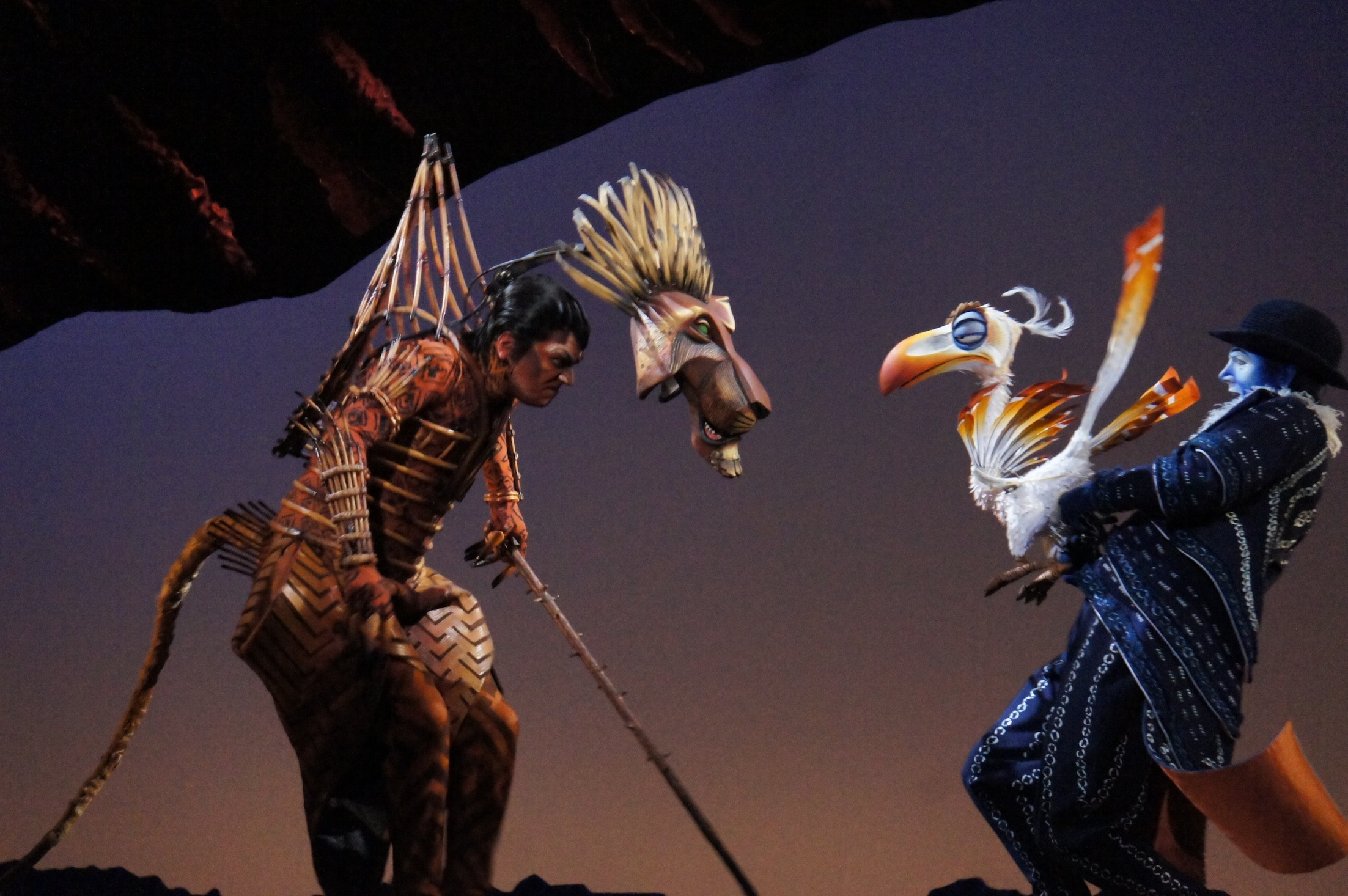 The Lion King Sydney: Sneak Peek – Simon Parris: Man in Chair Lion King Broadway Zazu