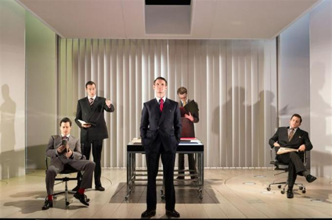 American Psycho musical, Matt Smith and men