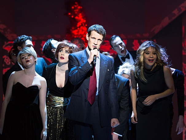 American Psycho musical, Matt Smith, company