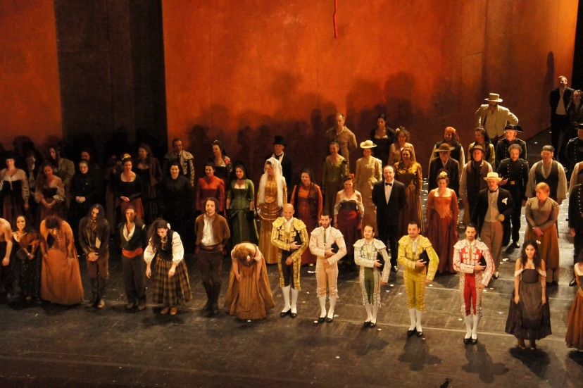 Carmen, Royal Opera House