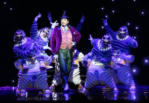 Charlie and the Chocolate Factory musical, Douglas Hodge, oompa loompas
