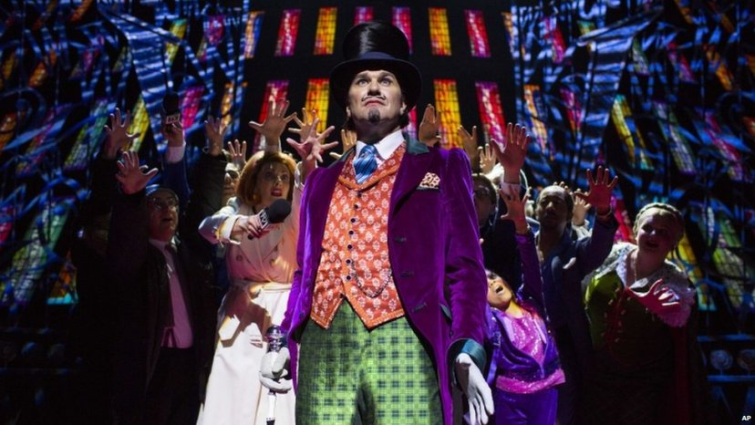 Charlie and the Chocolate Factory musical, Douglas Hodge