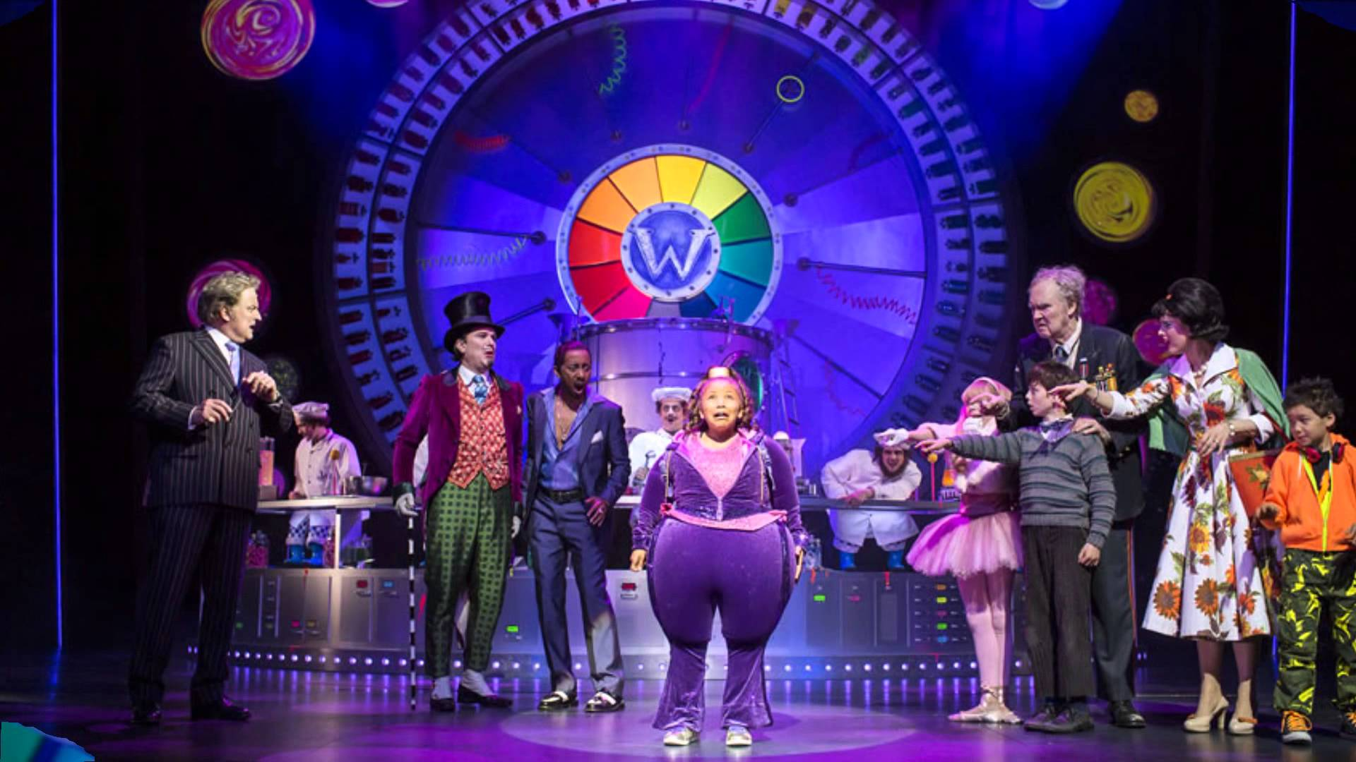 Violet Beauregarde Charlie And The Chocolate Factory Musical Charlie and The Chocol...
