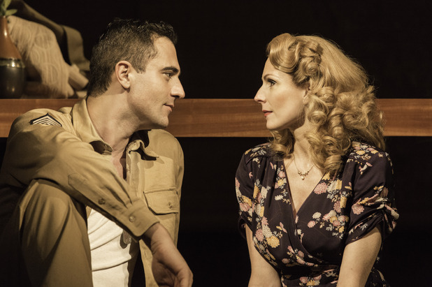 From Here to Eternity musical, Darius Campbell, Rebecca Thornhill