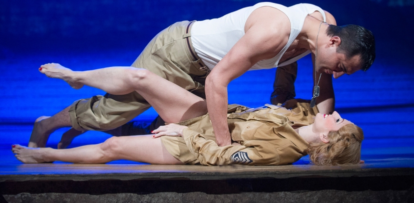 From Here to Eternity musical, Rebecca Thornhill, Darius Campbell