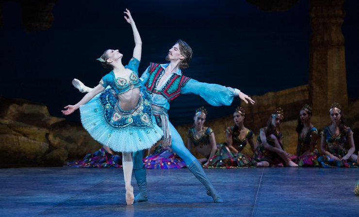 Le Corsaire, Coliseum, English National Ballet