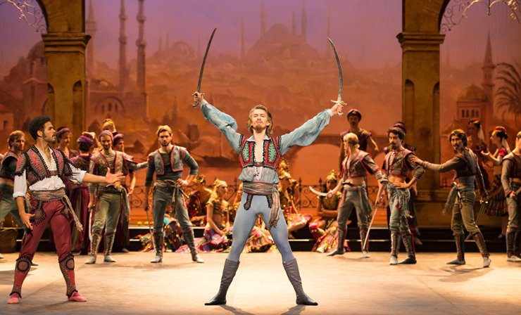 Le Corsaire, English National Ballet 2014