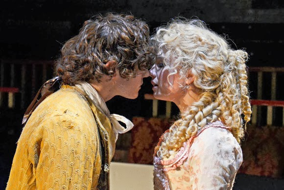 Menier Chocolate Factory Candide Scarlett Strallen and Fra Fee