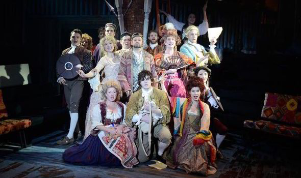 candide review Long beach opera takes voltaire's 'candide,' whose musical reimagining has felt the hands of many since the 1950s, for a spin in a staging that is light on its feet, winkingly meta-theatrical and.