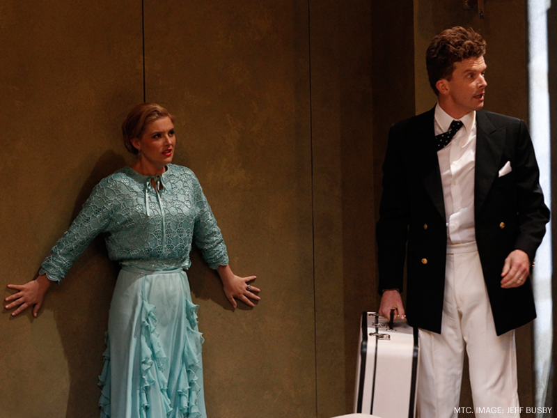 Private Lives MTC 2014 Lucy Durack and Leon Ford