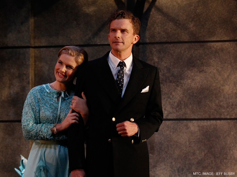 Private Lives MTC 2014 Lucy Durack, Leon Ford