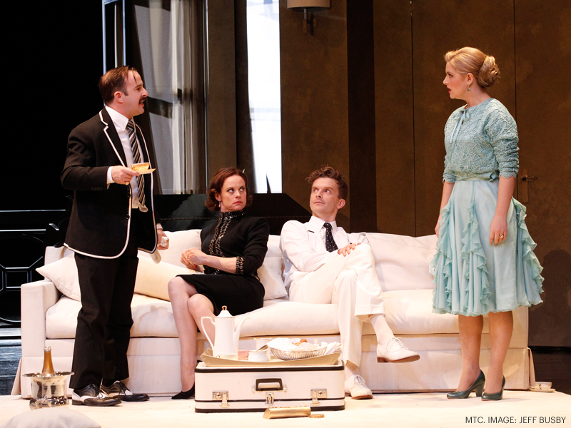 Private Lives MTC 2014 Victor, Amanda, Elyot, Sybil