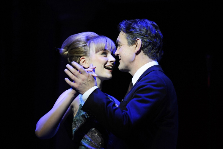 Stephen Ward musical, Charlotte Blackledge as Mandy Rice-Davies, Alexander Hanson