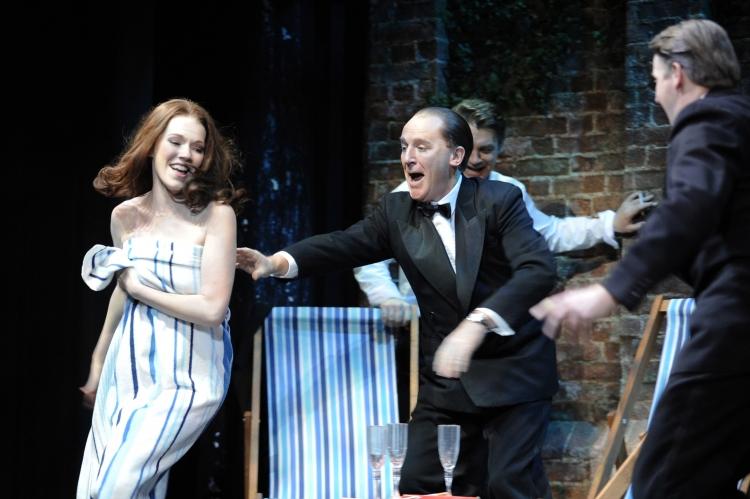 Stephen Ward musical, Charlotte Spencer as Christine Keeler, Daniel Flynn as John Profumo