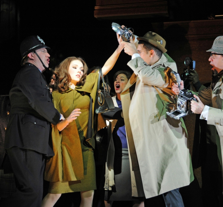 Stephen Ward musical, Charlotte Spencer as Christine Keeler