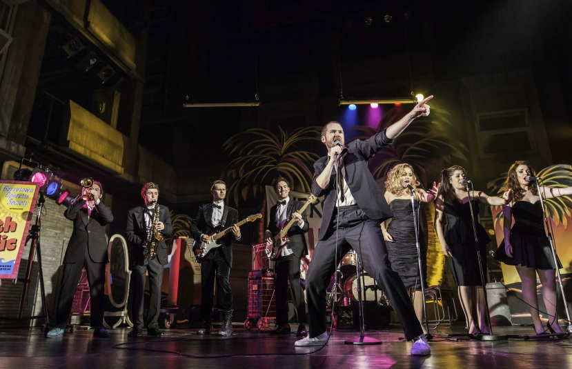 The Commitments musical, Palace Theatre, London, Killian Donnelly