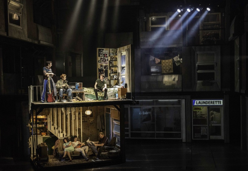 The Commitments musical, Palace Theatre, London, Set design