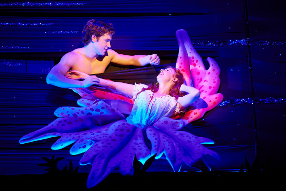 The Light Princess musical, Nick Hendrix shirtless, Rosalie Craig