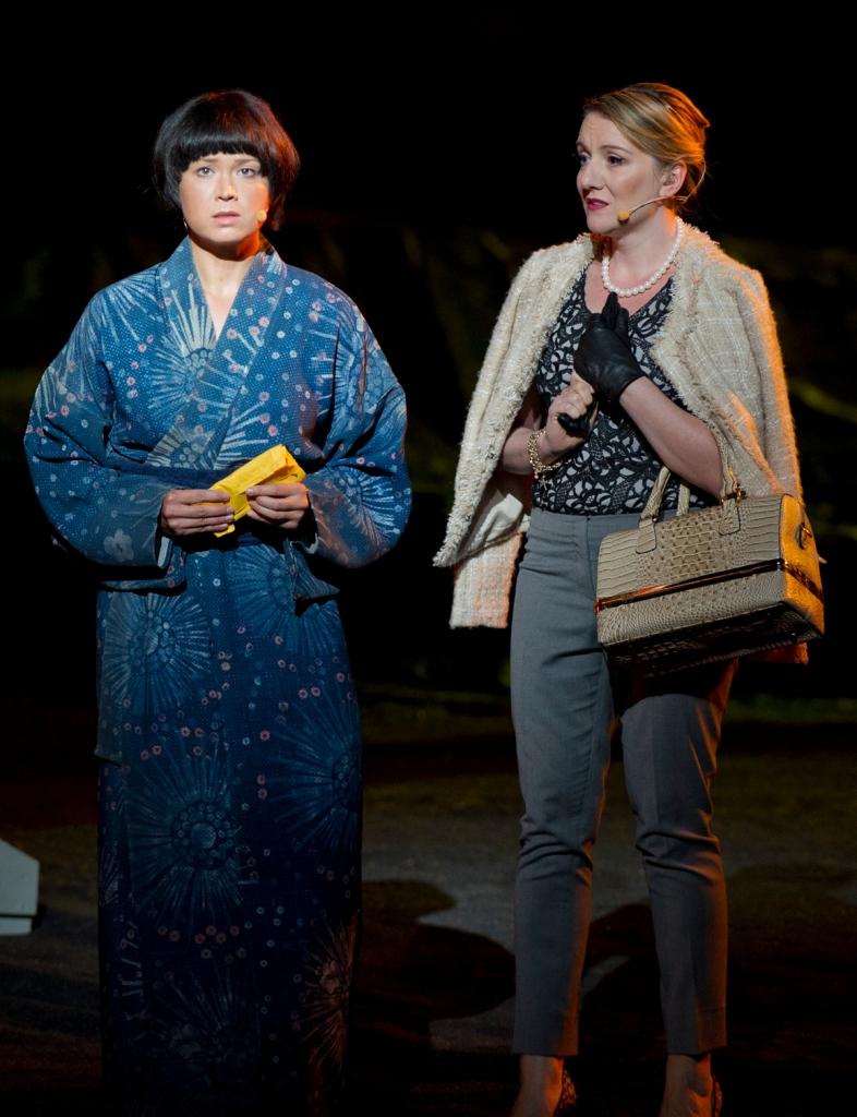 Madama Butterfly, Handa Opera Sydney Harbour 2014, Anna Yun- Suzuki, Celeste Lazarenko- Kate Pinkerston