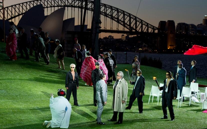 Madama Butterfly, Handa Opera Sydney Harbour 2014, Bonze (Gennadi Dubinsky)