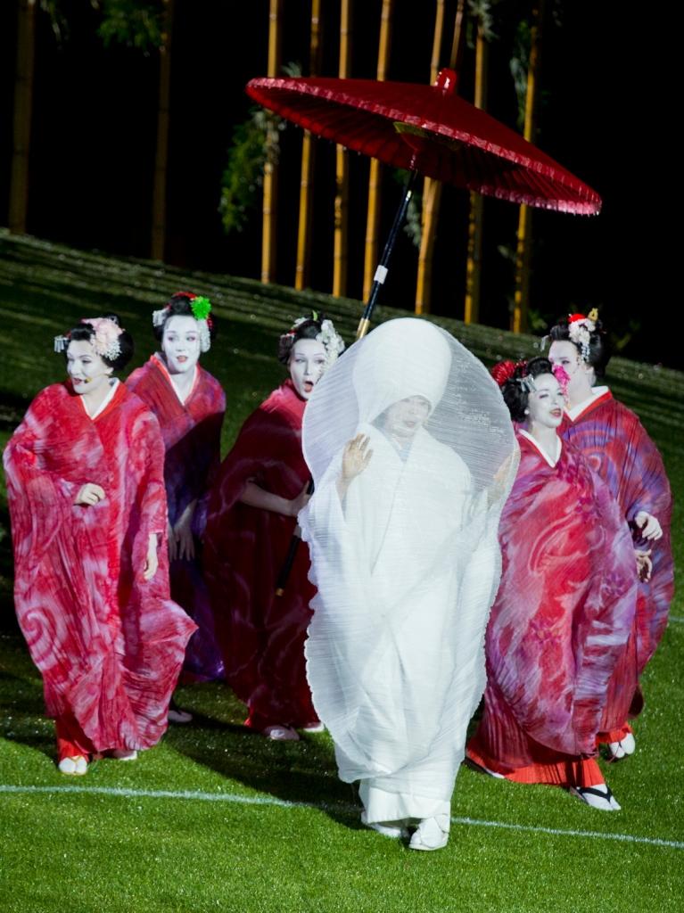 Madama Butterfly, Handa Opera Sydney Harbour 2014, Hiromi Omura