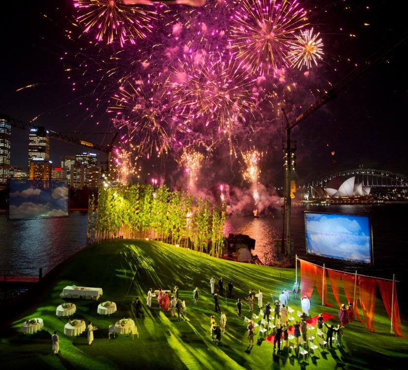 Madama Butterfly, Handa Opera Sydney Harbour 2014, Wedding Fireworks