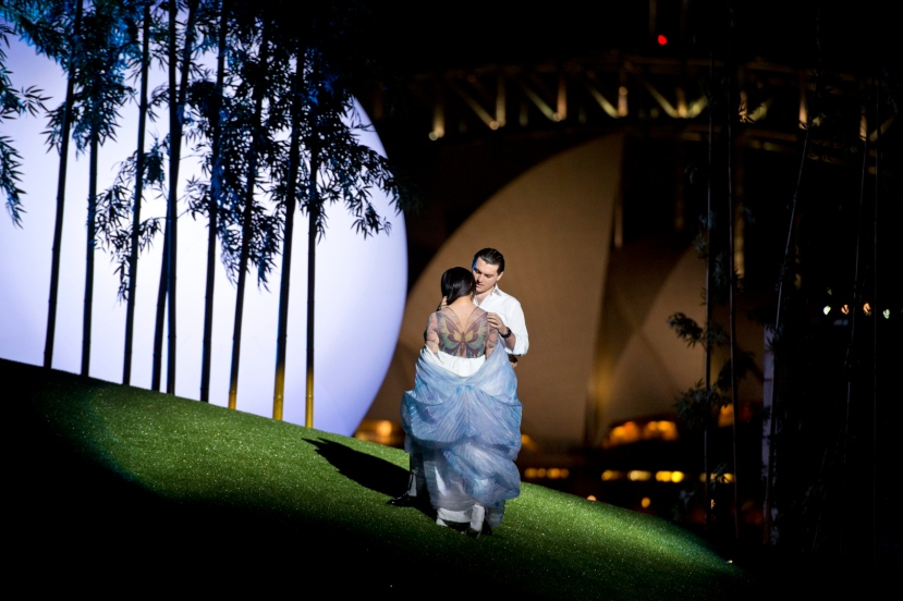 Madama Butterfly (Hiromi Omura) and Pinkerton (Georgy Vasiliev)