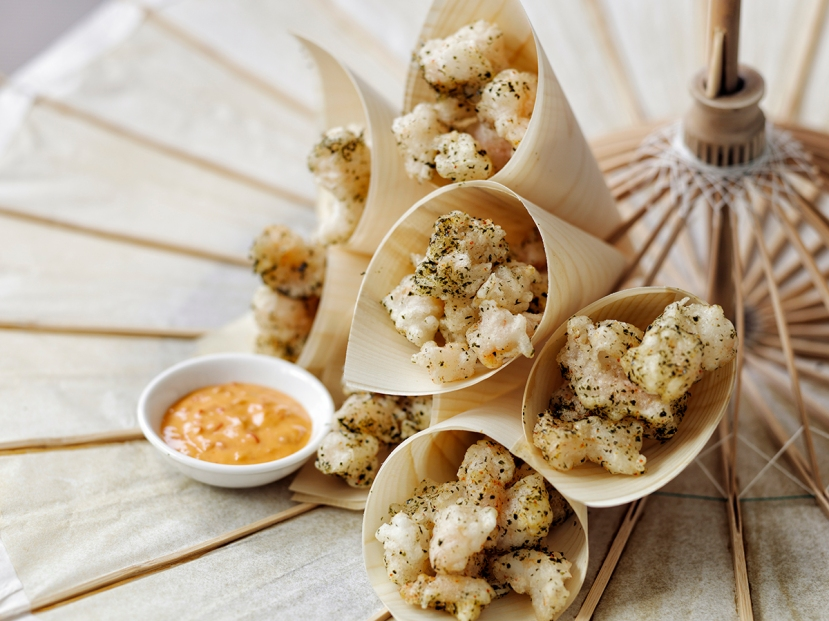 Popcorn shrimp Fresh_Catering_6