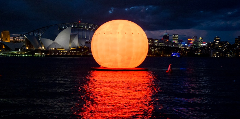 The Madama Butterfly Sun on Sydney Harbour
