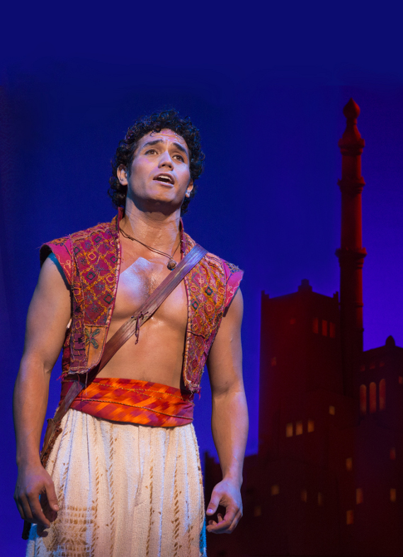Aladdin Adam Jacobs