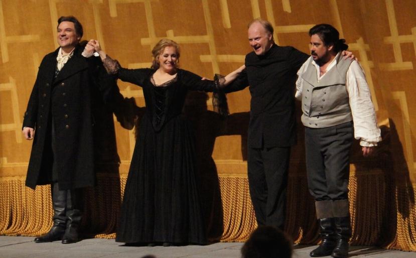 Andrea Chenier, Met Opera 2014