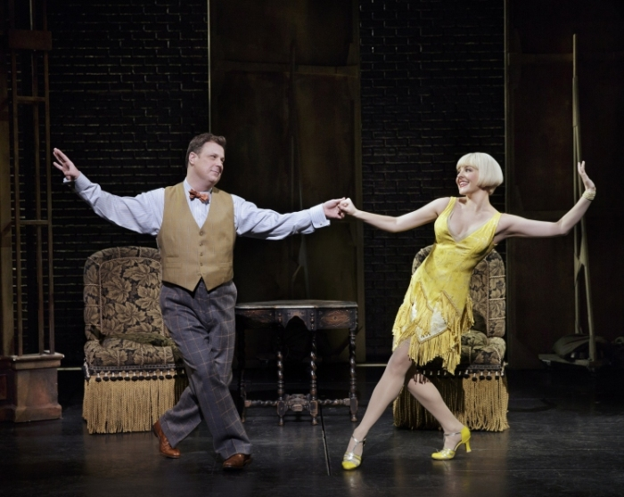 Bullets over Broadway the musical, Brooks Ashmankas, Helene Yorke