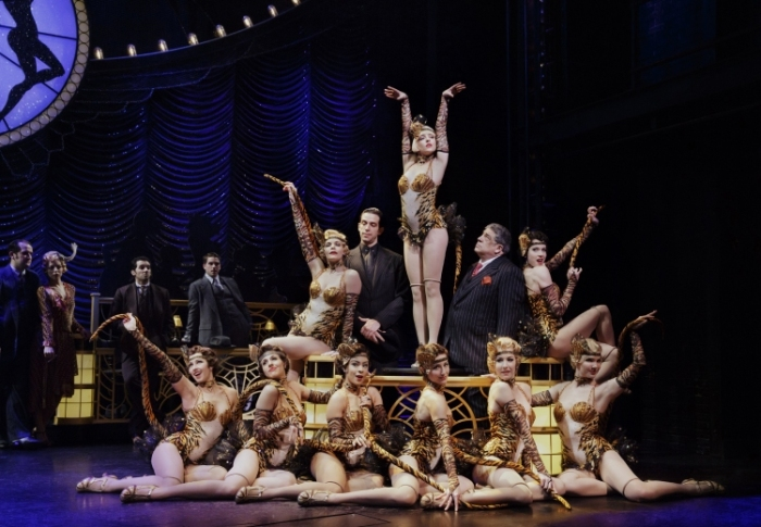 Bullets over Broadway the musical, gangsters and girls