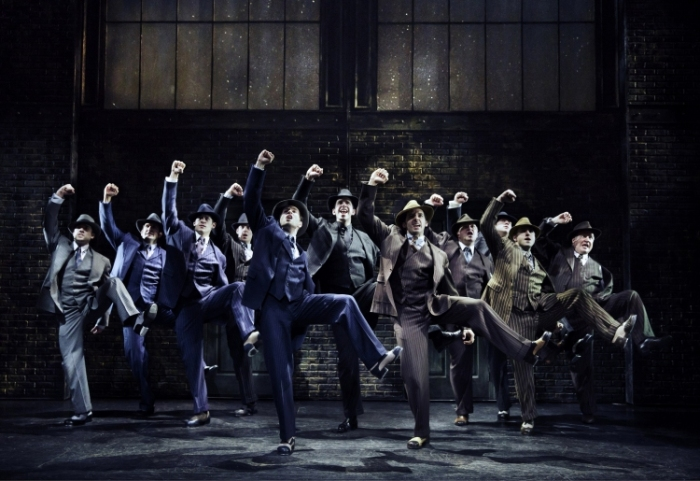 Bullets over Broadway the musical, tapdancing gangsters, Ain't nobody's biz-ness if i do