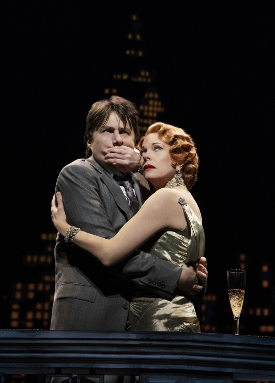 Bullets over Broadway the musical Zach Braff, Marin Mazzie, Don't Speak