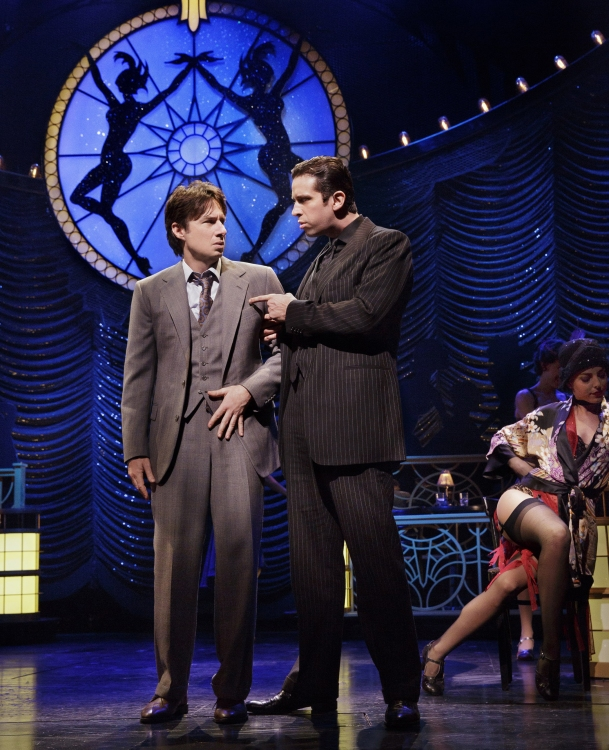 Bullets over Broadway the musical, Zach Braff, Nick Cordero