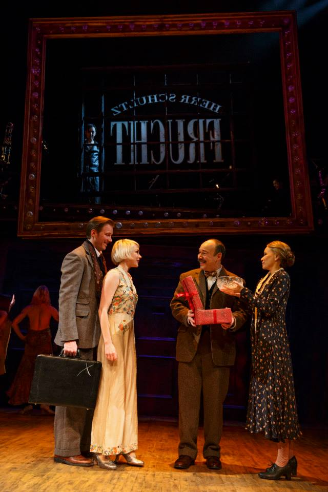 Cabaret Broadway 2014 Bill Heck, Michele WIlliams, Danny Burstein, Linda Emond