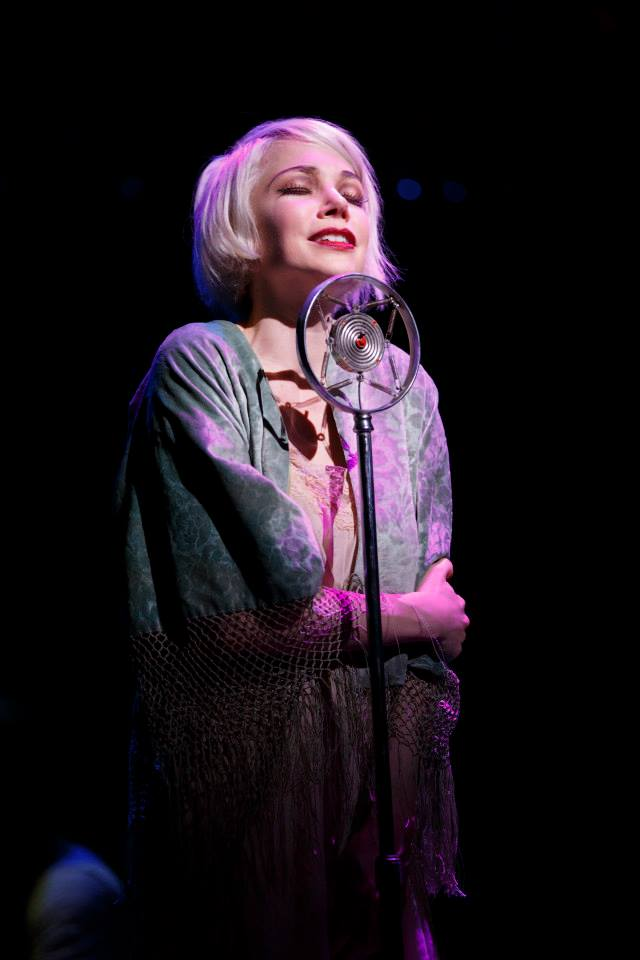Cabaret Broadway 2014 Michelle WIlliams as Sally Bowles