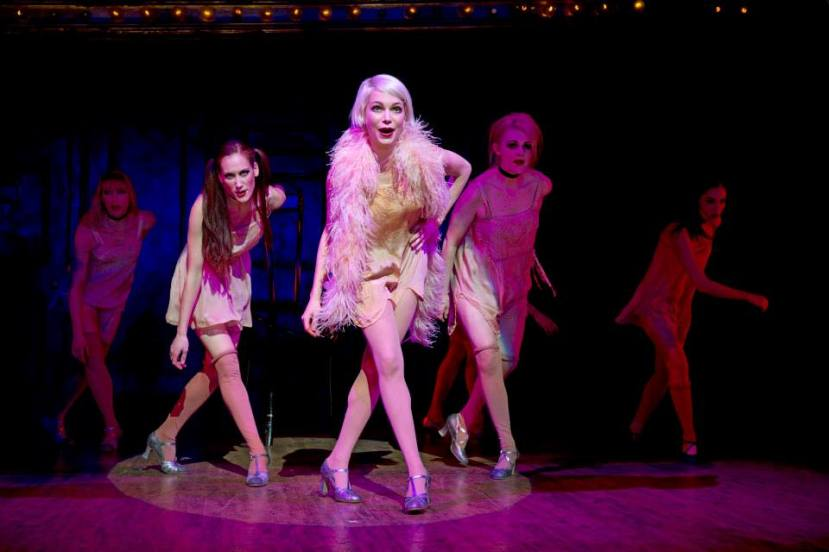 Cabaret Broadway 2014 Michelle Williams, Kit Kat Girls