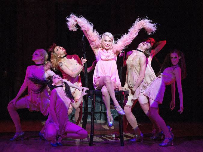 Cabaret Broadway 2014 Michelle Williams