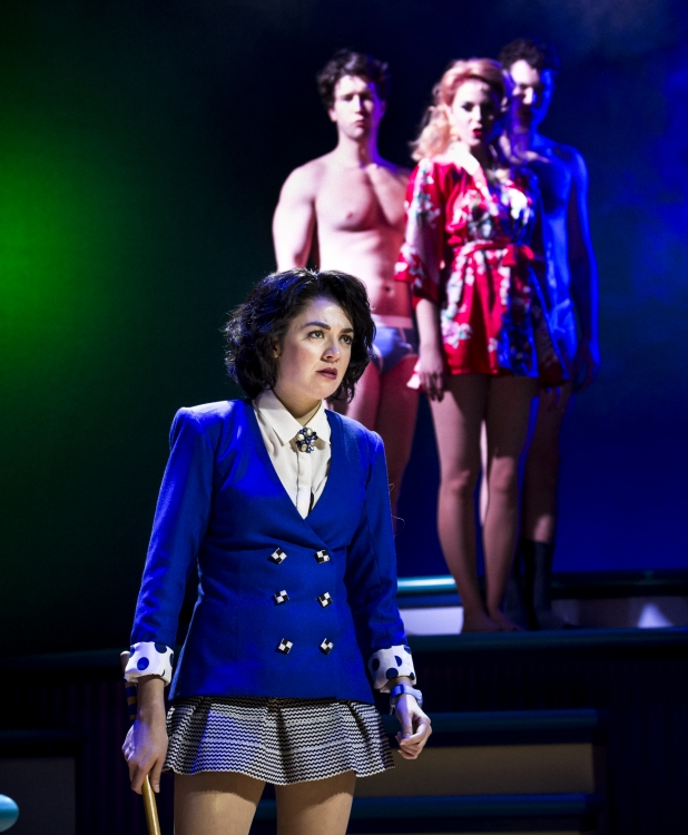 Heathers the Musical, Barrett Wilbert Weed, Evan Todd shirtless, Charissa Hogeland, Jon Eidson shirtless