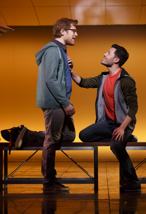 If Then, Broadway, Anthony Rapp, Jason Tam