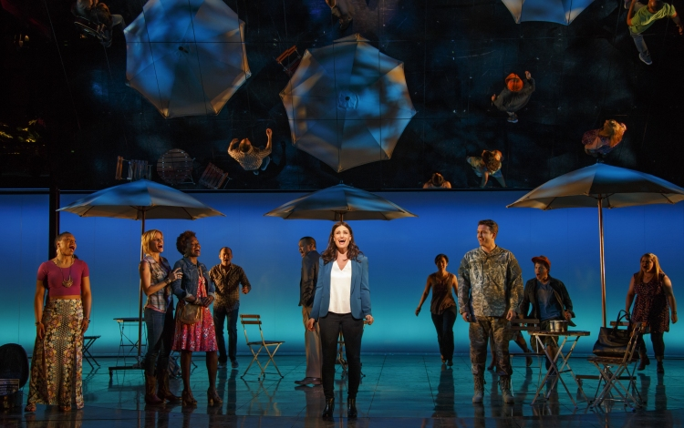 If Then, Broadway, Idina Menzel, closing scene
